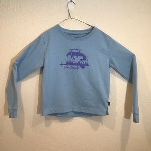 """Patagonia """"Live Simply"""" Uprisal Crew Pullover"""